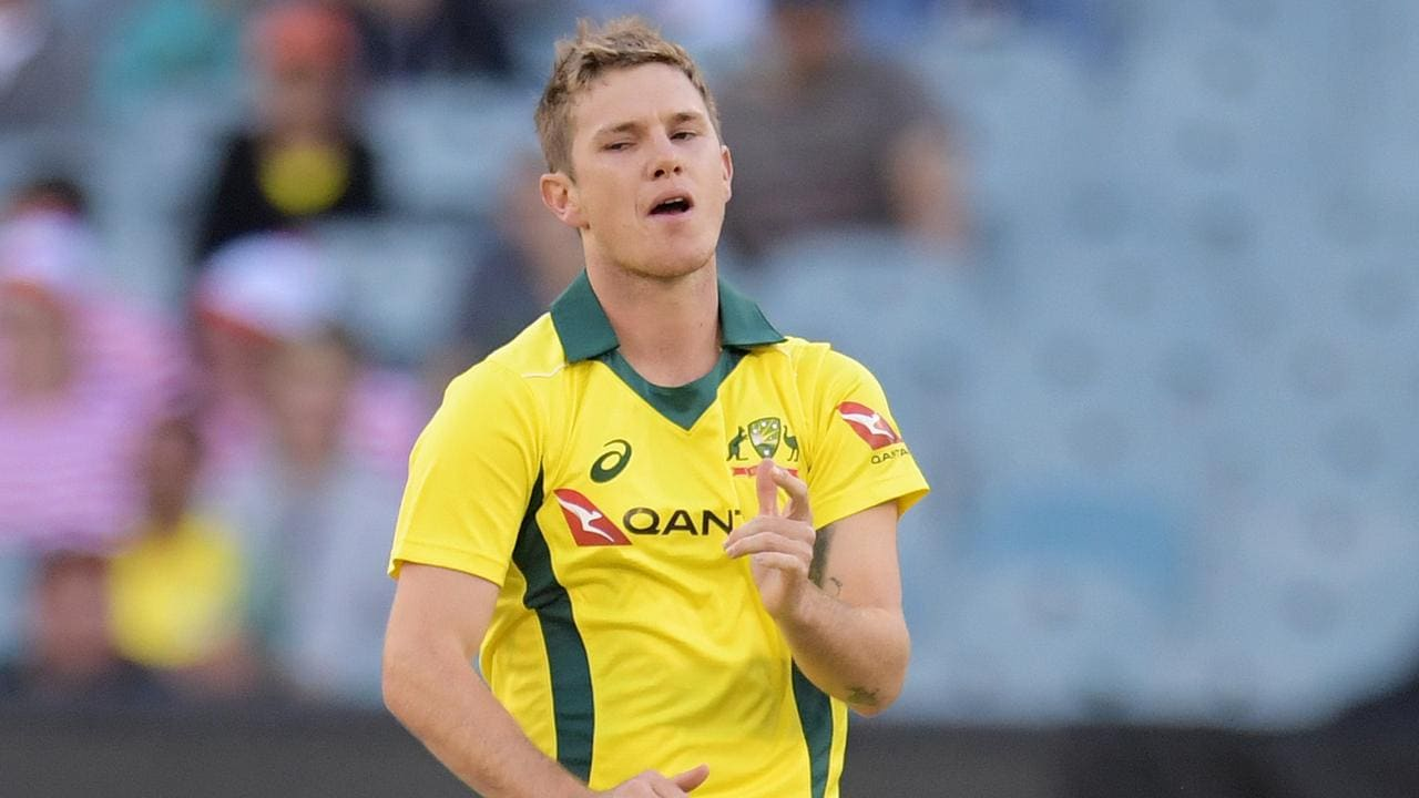 Adam Zampa has slipped down the pecking order.