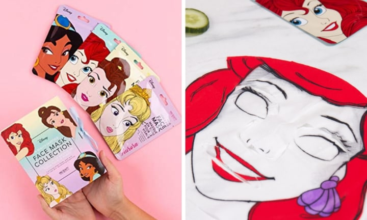Disney inspired sheet masks are here for you to channel your inner princess