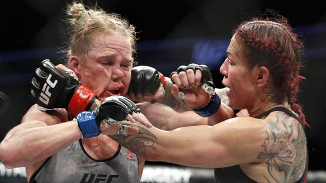 ufc 219 holly holm bruce buffer pic after cris cyborg fight