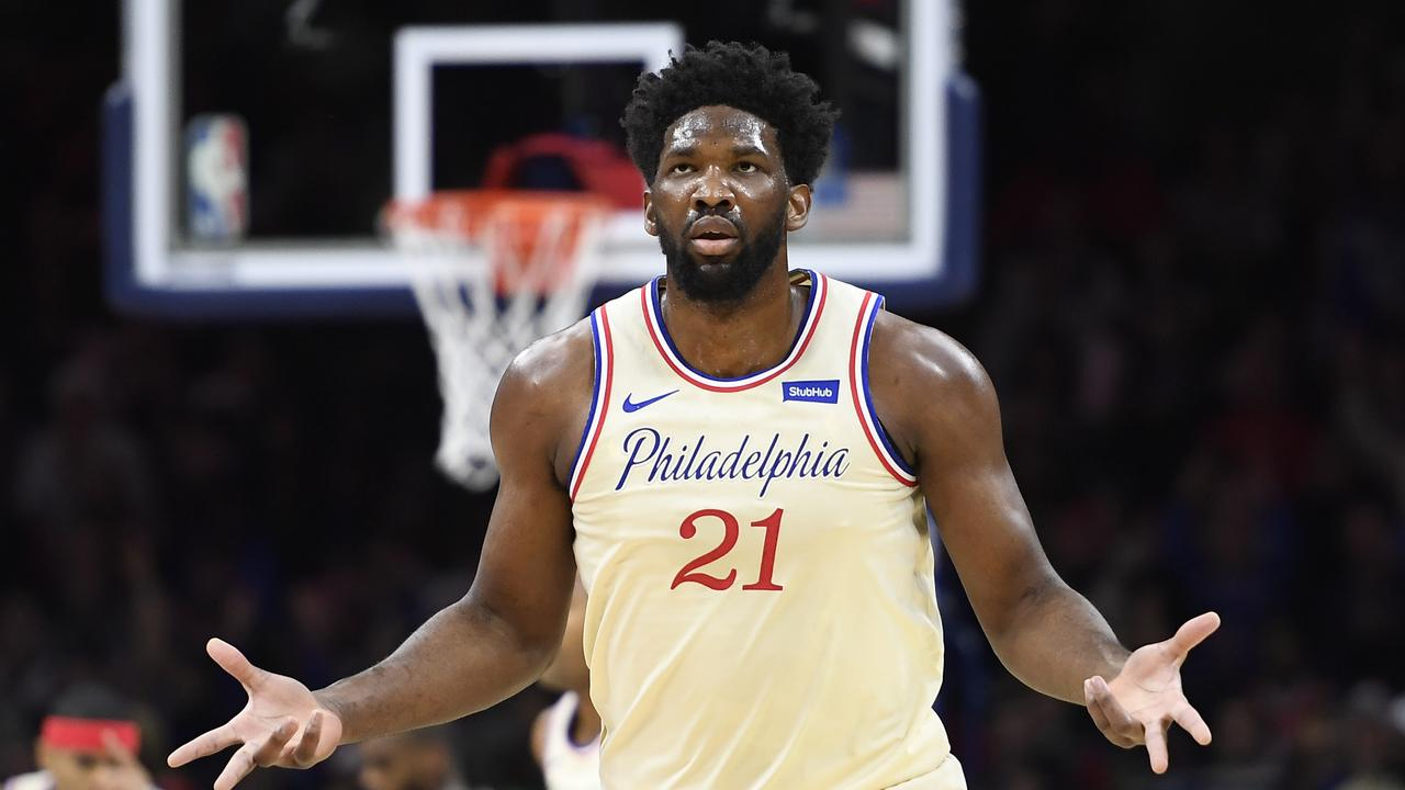 Joel Embiid is one of the players to have complained about food in the bubble.