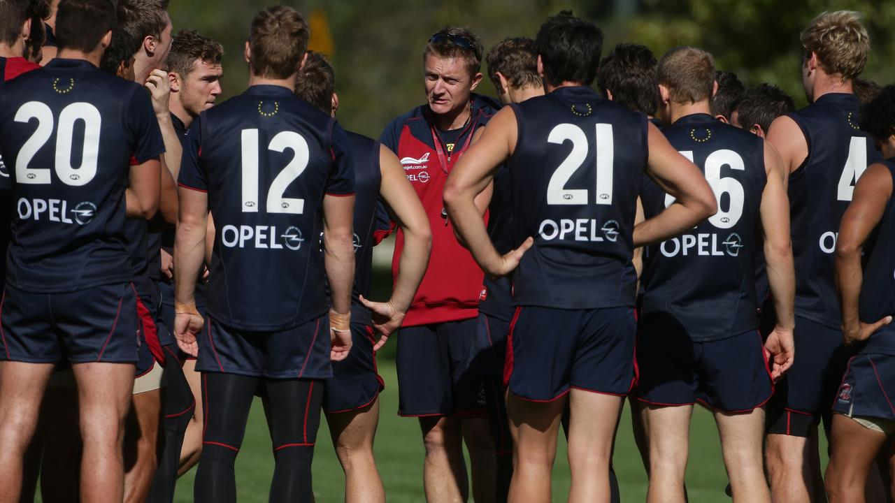 Mark Neeld coached Melbourne to five wins from 33 games.