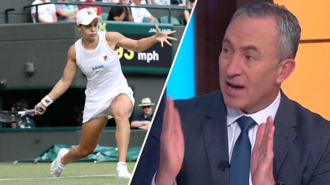 Seven Network explains Ash Barty Wimbledon snub (Sunrise)
