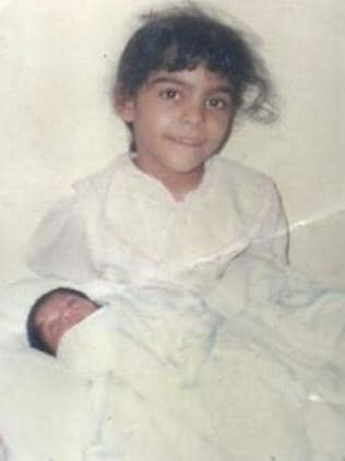 Saudi Arabian activist Israa al-Ghomgham, pictured as a child, is the first female human rights activist to face the death penalty — execution by beheading.