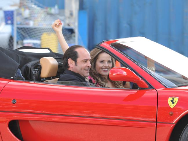 Mokbel's lavish lifestyle played out in the hit TV series Underbelly. Robert Mammone played Mokbel and Madeleine West played his love interest Danielle McGuire.