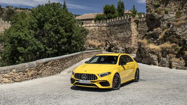 The A45 is one of the best performance cars in the world.
