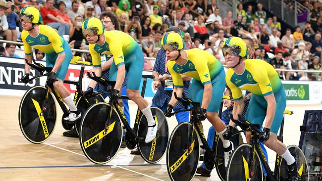 The Australian team came together after the 2016 Olympics. Picture: AAP Image/Dan Peled