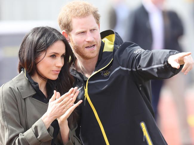 Meghan and Harry were criticised for their use of private jets. Picture: Chris Jackson/Getty Images
