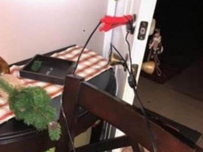 Michael Scott Wilson rigged the front door of a home in an attempt to electrocute his estranged wife. Picture: Supplied