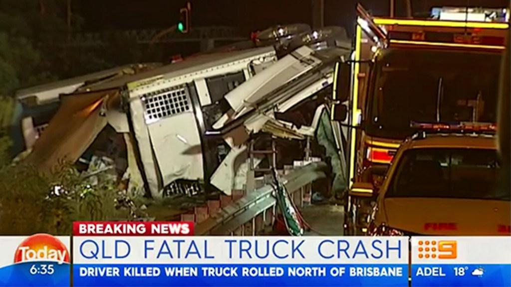 Qld fatal truck crash   The Courier Mail