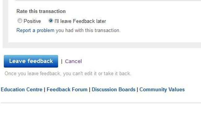Online Shopping Giant Ebay Doesn T Allow Sellers To Leave Negative Feedback For Buyers