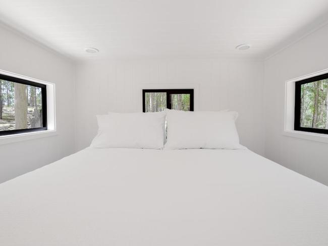 The rooms were a minimalist's dream. Picture: In2theWild