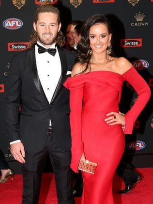 At the 2016 Brownlow. Picture: Tim Carrafa