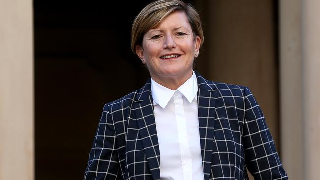 Councillor Christine Forster is no longer running for Malcolm Turnbull's former seat of Wentworth in Sydney's east. Picture: Toby Zerna