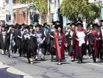at the UTAS Graduation at Burnie. PICTURE CHRIS KIDD