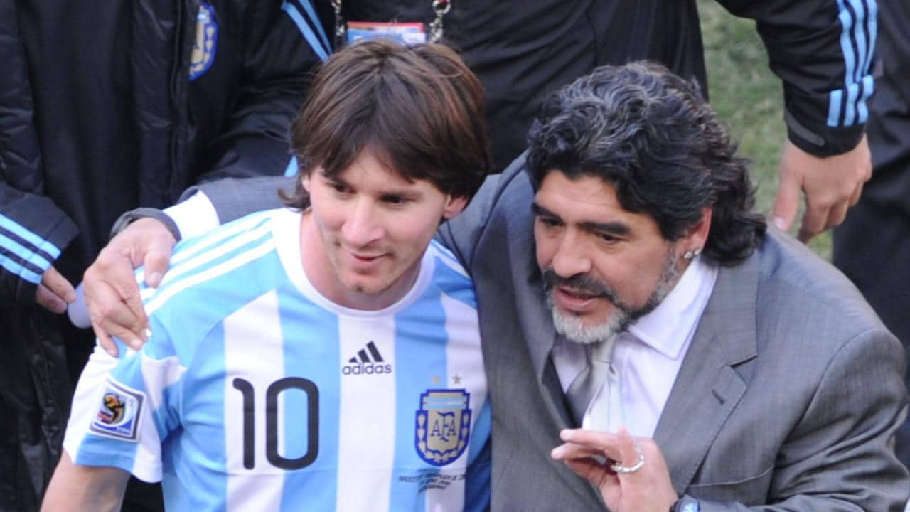 Diego Maradona has slammed his fellow countryman!