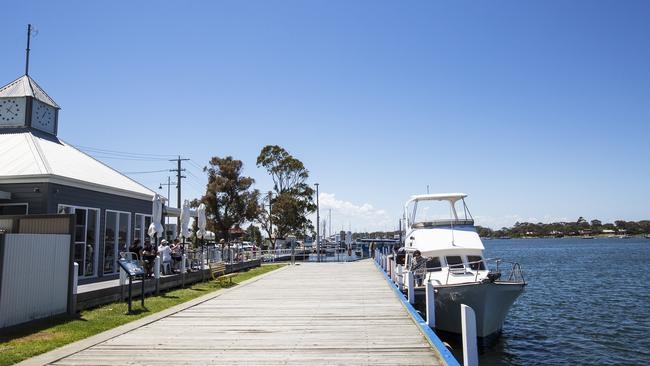 Pier 70 in Paynesville is impeccably located with waterfront views. Picture: Destination Gippsland