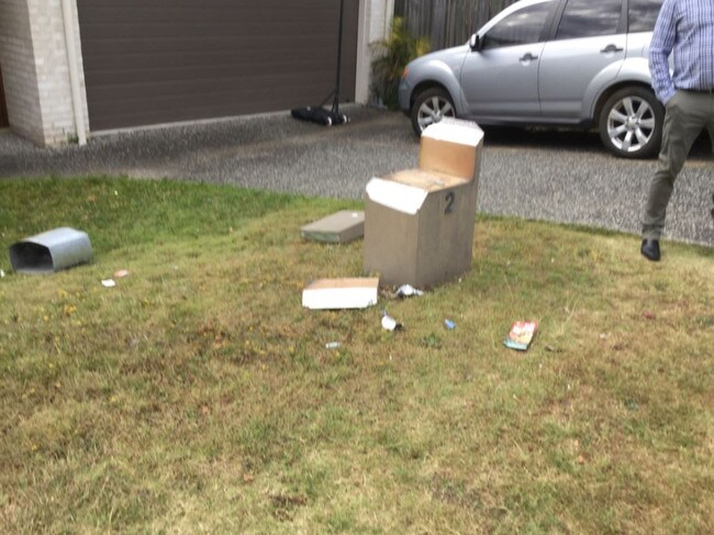 Police have said they are seriously concerned over the spate of letterbox bombings. Picture: Queensland Police