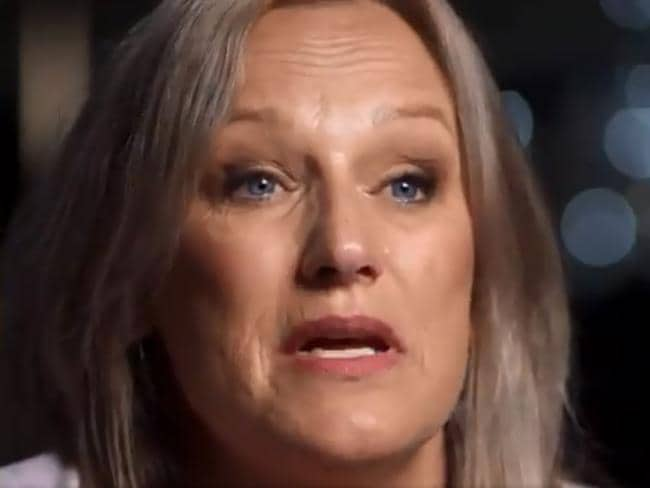 Ms Cartier revealed she instantly knew her brother had been murdered when she read his suicide note. Picture: Sunday Night/Channel 7