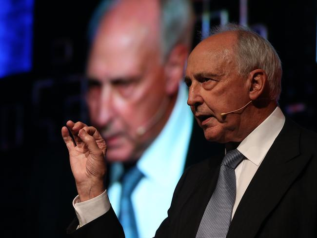 Former Prime Minister Paul Keating. Picture: Jane Dempster/The Australian
