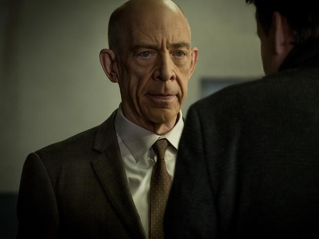 J.K. Simmons, who plays two versions of Howard Silk on Counterpart.