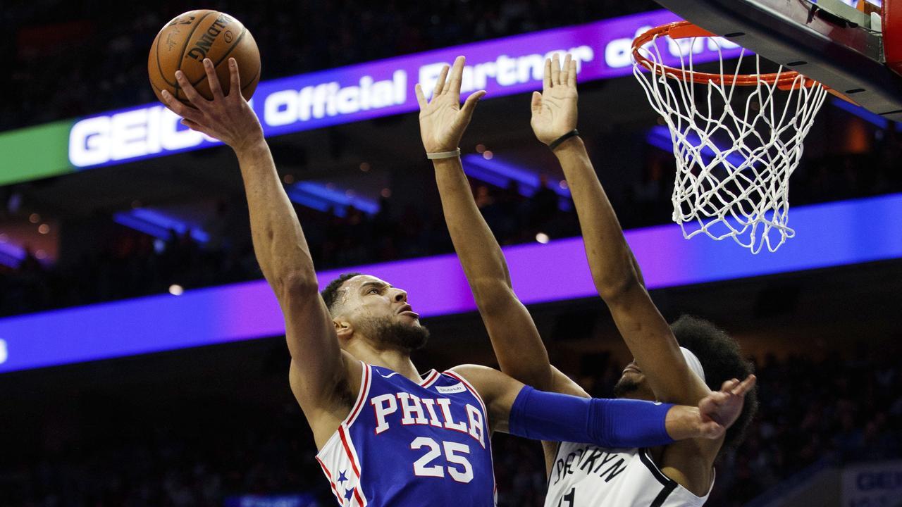 Simmons, Sixers run riot in Philadelphia.