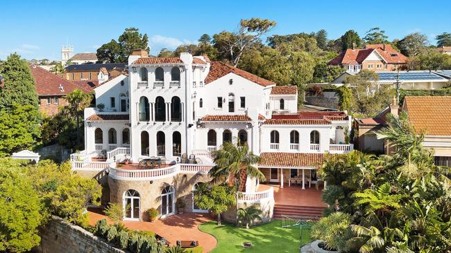 This trophy home in Bellevue Hill has been for sale more than a year. Price expectations are $28 million.