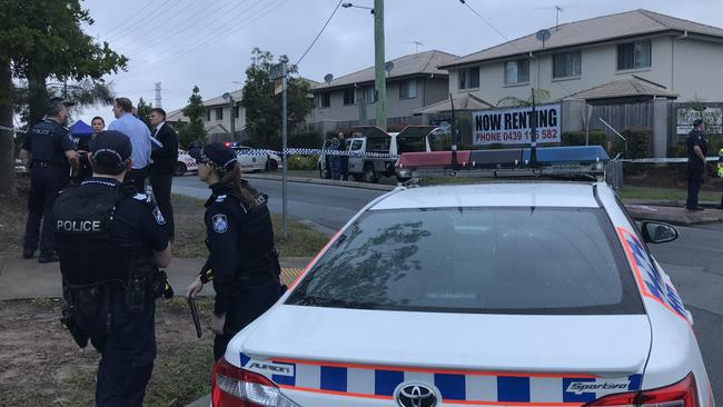 Neighbours said they woke early this morning when they heard the 19-year-old woman screaming. Picture: Jacob Miley