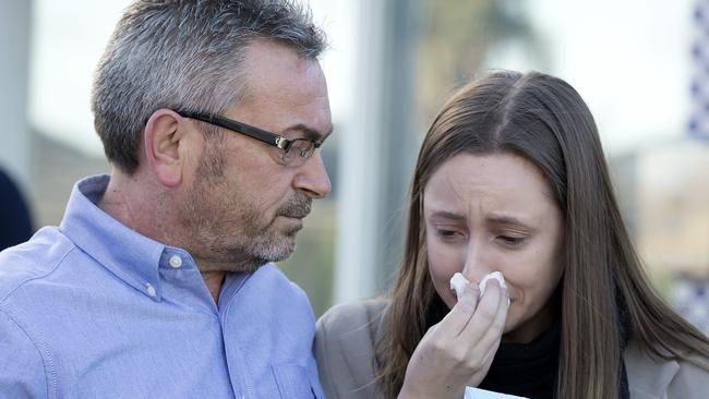 Husband Borce and daughter Sarah made a public appeal after Karen went missing.