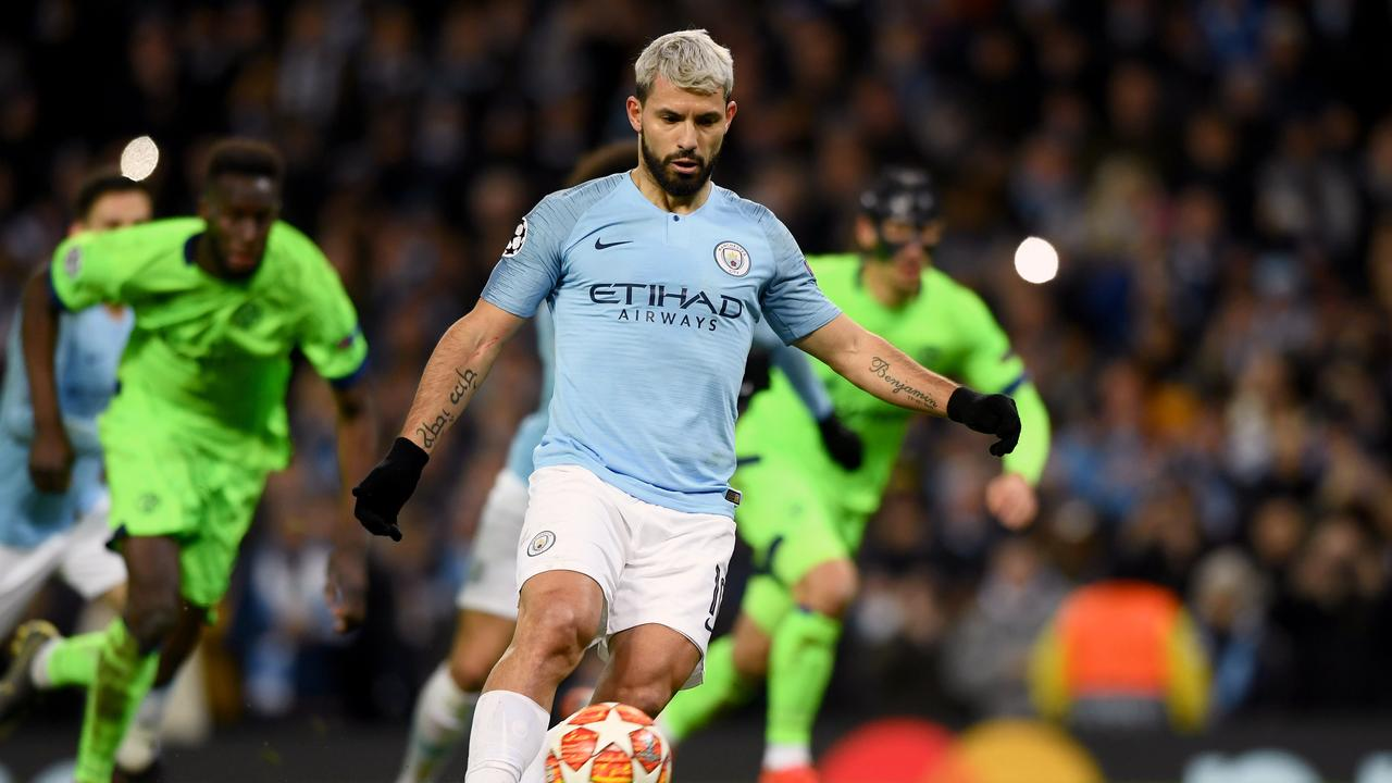 Sergio Aguero's panenka penalty opened the floodgates