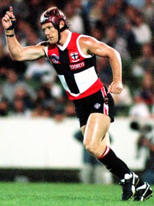 Nathan Burke in action in 1996