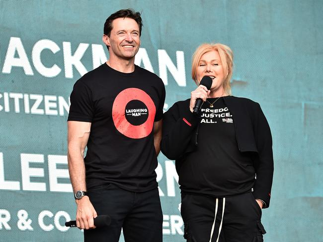 Hugh Jackman and Deborra-lee Furness have slightly different ideas about how the star should celebrate his 50th birthday. Picture: /Getty Images