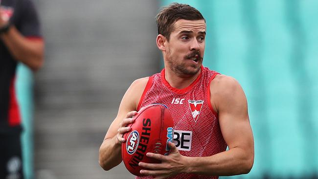 Sydney ball magnet Jake Lloyd is a prime defensive premium target. Picture: Phil Hillyard.