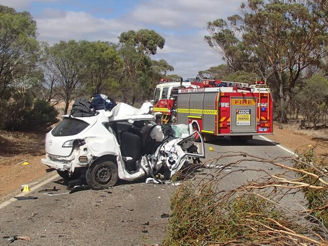 A 23-year-old Mosman Park man died following a horror crash near Northam early Sunday. Picture: AAP