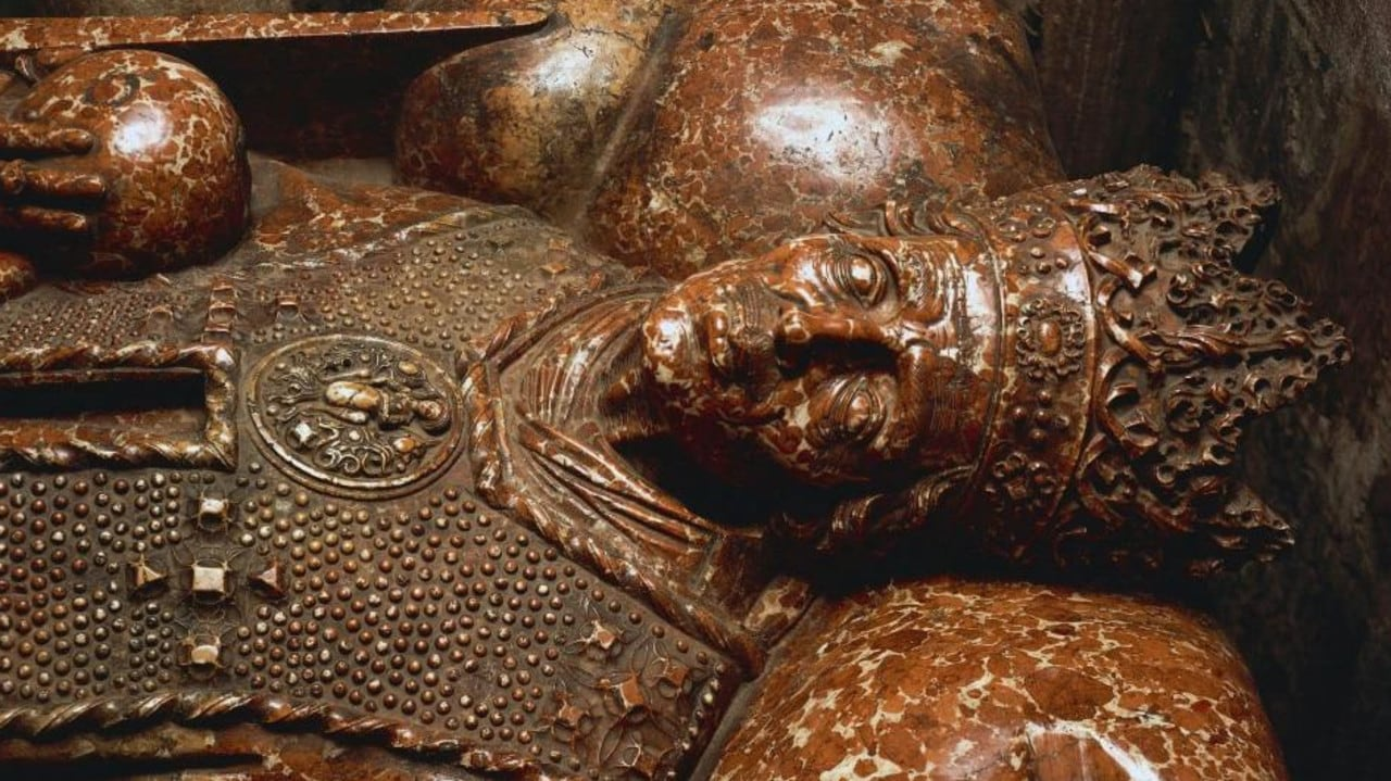 The tomb of King Casimir IV Jagiellon in Cracow, Poland. Picture: Getty Images