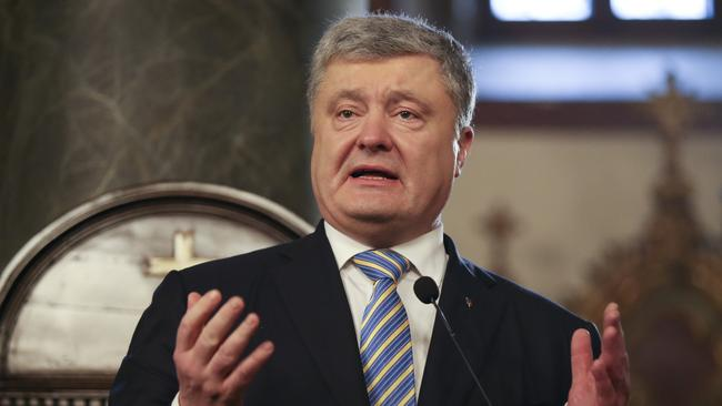 Ukrainian President Petro Poroshenko has insisted the sailors are prisoners of war and should be immediately released.