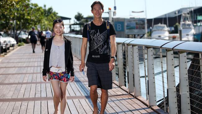 Lucrative ... Chinese visitors will spend almost double that of any other nationality by 2025. Picture: Stewart McLean