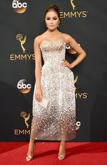 Olivia Culpo attends the 68th Annual Primetime Emmy Awards on September 18, 2016 in Los Angeles, California. Picture: Getty