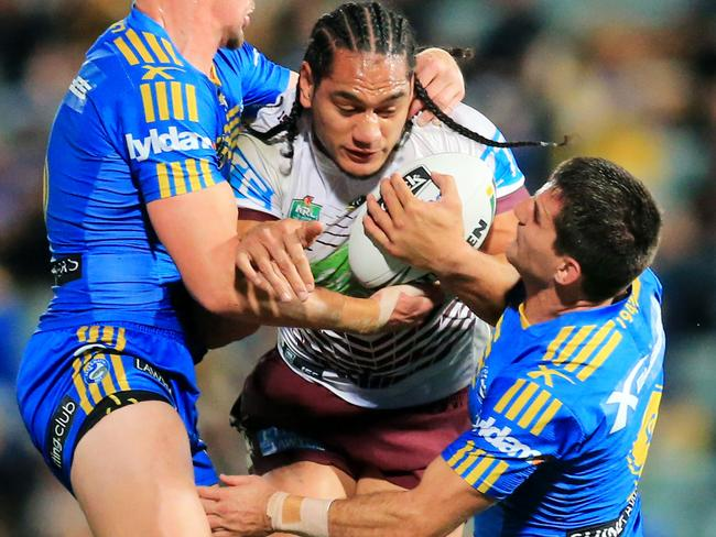 Marty Taupau of Manly.