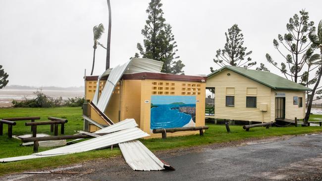 Cyclone Marcia aftermath at Emu Park near Yeppoon. Picture: Glenn Adamus