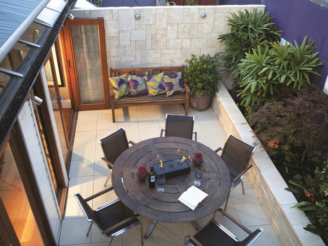 The outdoor room is set to become the most popular room in the house due to the health and financial benefits it offers. Picture: Supplied