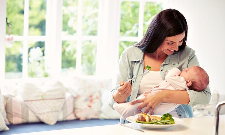 4. You have to eat.  <p>As a dietitian myself I have always had to watch my weight closely so the thought of loading up on meals and carbs simply to ensure I make enough milk is crazy but trying to breastfeed two babies as much as I can means I have to eat … a lot. In fact I have never eaten so much in my life. And I have to prioritise it, so even if the twins are unsettled I have to find a way to slip in meals and snacks (I am becoming a master at the one-handed toast spread) otherwise I have no milk. I often have mothers who coming trying to lose weight who report not having time to eat, but you have to make time and prioritise it - this I now know firsthand. So if you have a friend who has just had a baby (or two) don't take flowers, take food, lots of it that she can heat quickly and that will fill her up. Pies, quiches, pasta bakes and healthy home-baked treats are perfect.</p>