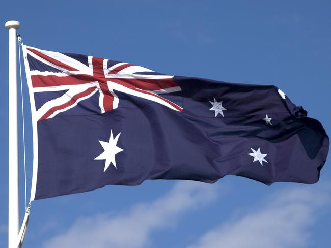 Students were asked to redesign the Australian flag.