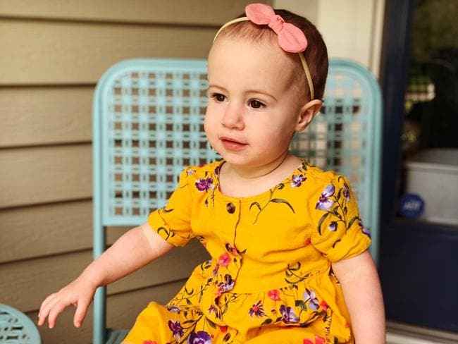 Toddler Chloe Wiegand fell to her death from a window on Royal Caribbean cruise ship Freedom of the Seas. Picture: Michael Winkleman