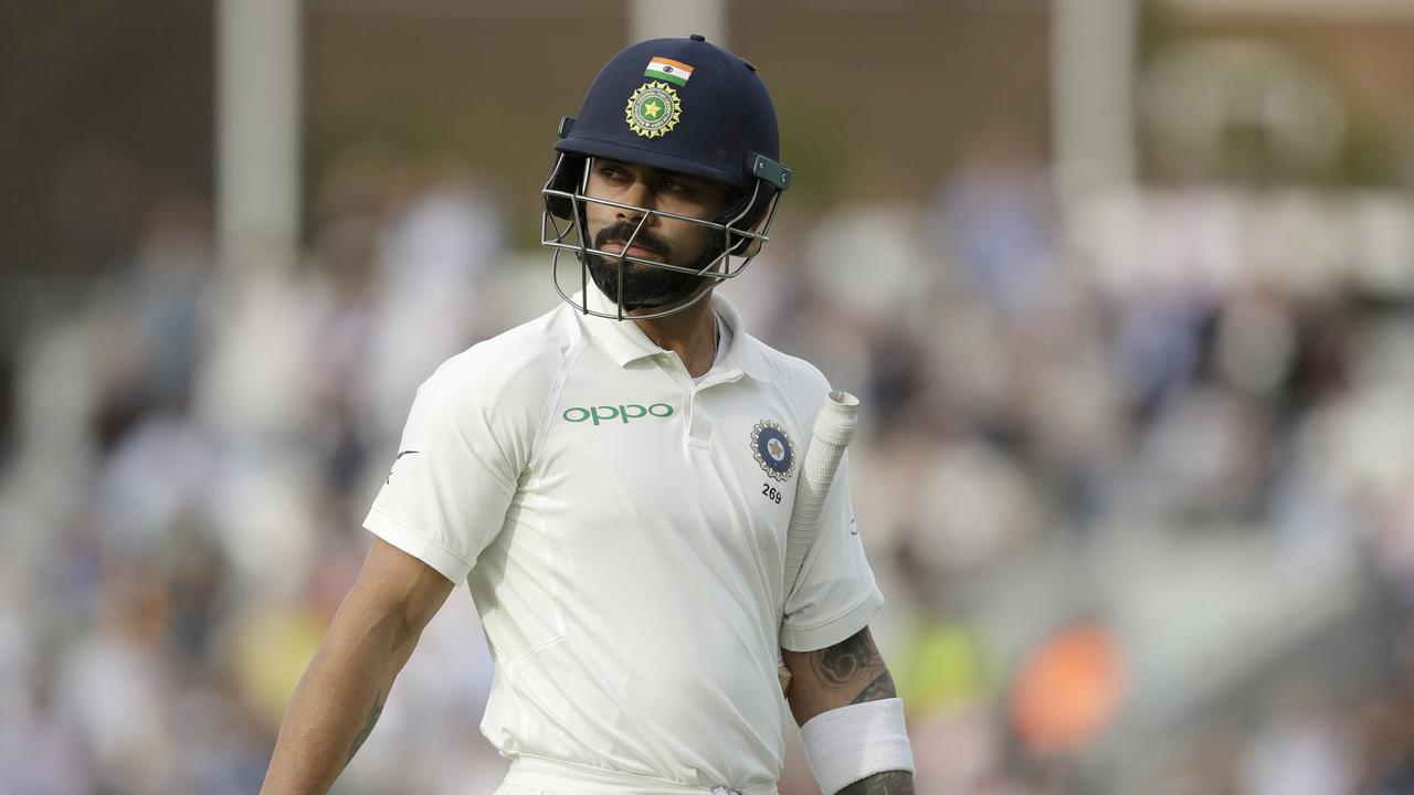 Virat Kohli fell for a golden duck