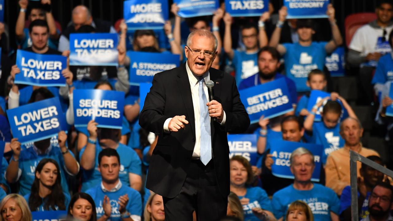 Scott Morrison: hope of the Liberal party