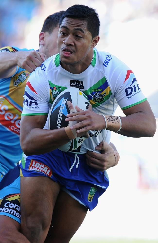 Anthony Milford was signed by the Raiders when he was just 13 years old.