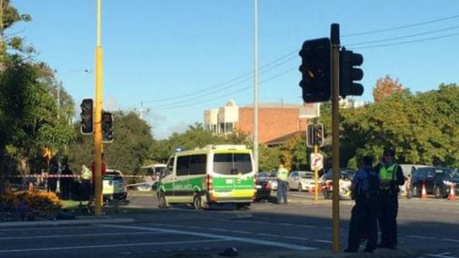 Elderly man dies in RPH after early morning West Perth crash