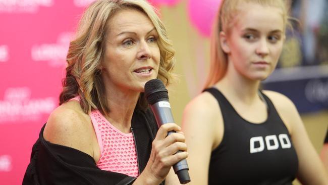 Lorna Jane Clarkson is an active spokeswoman about health and wellbeing.