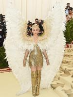 Katy Perry attends the Heavenly Bodies: Fashion and The Catholic Imagination Costume Institute Gala at The Metropolitan Museum of Art on May 7, 2018 in New York City. Picture: Getty Images