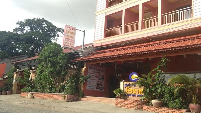 The Boeung Meas Guesthouse where Mr Fruin was living. Pic: Facebook